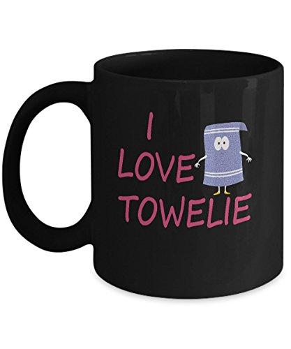 Towelie South Park Mug - I love Towelie Mug (South Park Towelie)