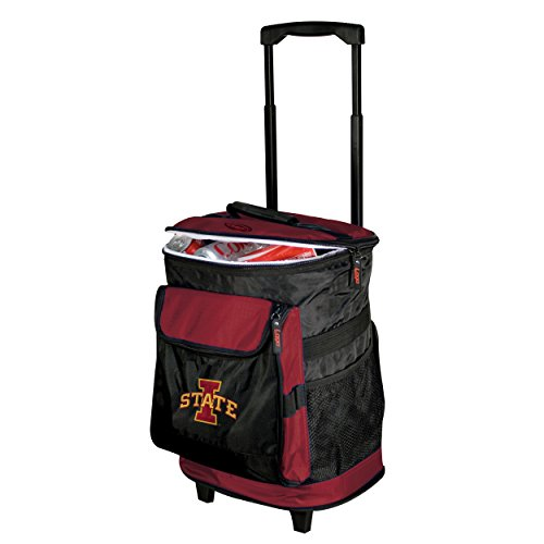 NCAA Iowa State  - Rolling Cooler by Logo Brands (Cyclone Inline Fan compare prices)