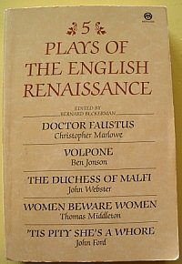 Five Plays of the English Renaissance (Meridian classics)