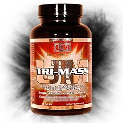 Unleashed Muscle Tri-Mass: Increase Lean Muscle Mass & Amplify Testosterone Naturally