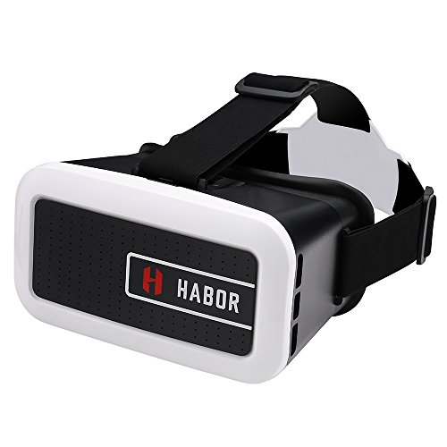 Check Out This Habor 3D VR Virtual Reality Headset Virtual Reality Glasses for smartphones for 3D Movies/Games(Upgraded Version)