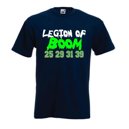 "Richard Sherman Seattle Seahawks ""Legion of Boom"" T-shirt LARGE at Amazon.com"