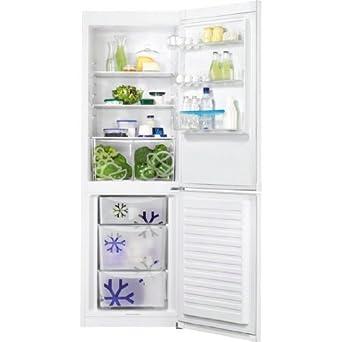 Faure FRB36101WA réfrigérateur-congélateur - réfrigérateurs-congélateurs (Autonome, Blanc, Bas-placé, A+, SN, ST, T, Non, LED)