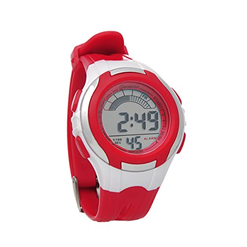 Mingrui 30M Water-Proof Digital Boys Girls Sport Watch With Alarm Stopwatch Chronograph Red
