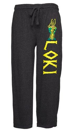 Marvel Comics Loki Lounge Pants (Medium) (Marvel Superheroes Pajamas compare prices)
