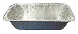 Durable Packaging 5200-200 Aluminum Steam Table Pan, 1/3-Size, Deep, 3-5/16\