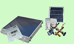 Complete 2 Panel EZ-Connect Hybrid Solar Water Heater Kit