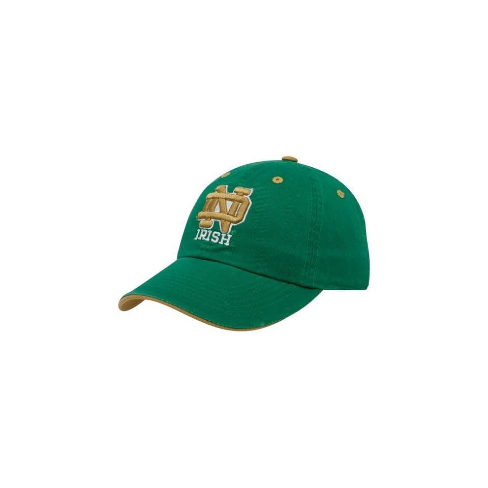 TopOfTheWorld ND1 ADJ CREW Notre Dame Adult Crew Adjustable Hat
