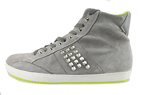 CULT sneakers uomo 45 EU grigio camoscio borchie AH886