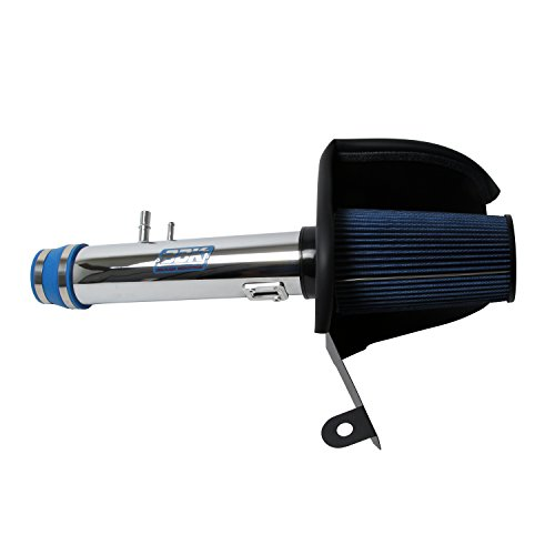 BBK 1778 Cold Air Intake System - Power Plus Series Performance Kit for Mustang V6 3.7L - Chrome Finish (2012 Mustang Intake compare prices)