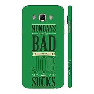 Enthopia Designer Hardshell Case Monday Not Bad Back Cover for Samsung Galaxy J7( 2016)