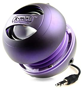 X-Mi X Mini II 2nd Generation Capsule iPhone / iPad 2 3 / iPod / MP3 / Laptop Speaker - Purple