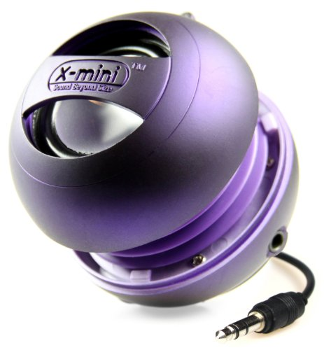 X-Mini Ii Xam4-Pu Portable Capsule Speaker, Mono, Purple