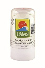 Lafes Crystal Deodorant Stick, 4.25 O…