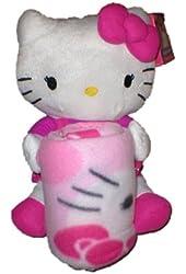 Sanrio Hello Kitty Throw (40x50) and Pillow Set By Northwest Hello Kitty Pillow