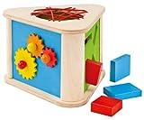 1445 Prisma Discovery Box (Dexterity Toy) - Selecta Wooden Toys/Selecta Spielzeug