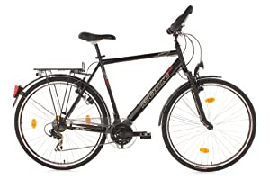 "KS Cycling Climax Multi Vélo VTC trekking Homme 28"" Noir 53 cm"
