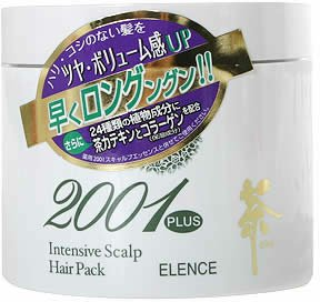 Elence 2001 Plus Green Tea Intensive Scalp Hair Pack Hair Treatment For Promoting Hair Growth And Minimizing Hair Loss