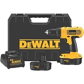 DEWALT DC970K-2 18-Volt Drill/Driver Kit