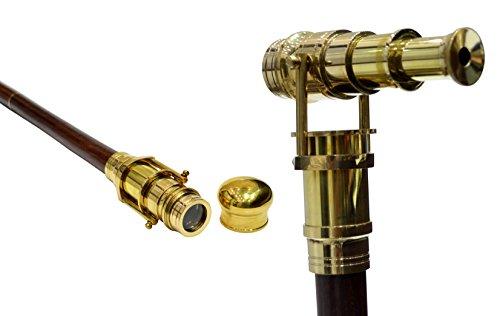 canne-pliante-telescopique-en-bois-de-palissandre-indien-avec-longue-vue-en-laiton