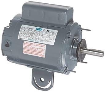 Leeson Pedestal Hvac Motor 1 Phase 48y Frame