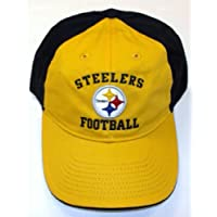 Pittsburgh Steelers Slouch Strap NFL Team Apparel Hat - Osfa - EZE78