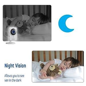 Cámara de Vigilancia IP Samsung SmartCam inalámbrica para día y noche con Wi-Fi, version 2.0, recertificada por la fábrica