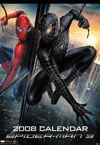 スパイダーマン3 2008年カレンダー