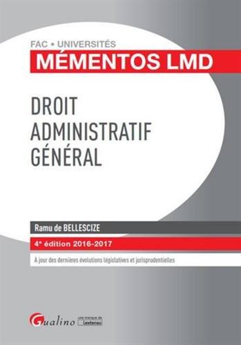 Droit administratif général 2016-2017