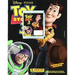 Disney Pixar Toy Story 3 Collectible Sticker Album - 1