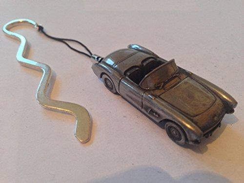 chevrolet-corvette-circa-1957-auto-su-una-curva-ref36-segnalibro-con-cordino