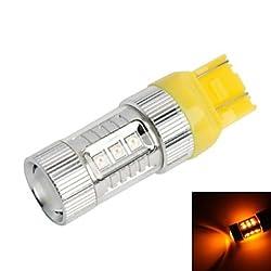 See GC? T20 / 7443 80W 16-Samsung SMD 850lm Yellow Light LED For Car Brake / Reversing Light (DC12~24V) Details