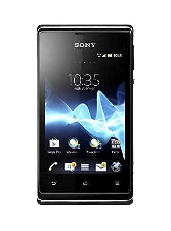 Smartphone Sony Xperia E Noir