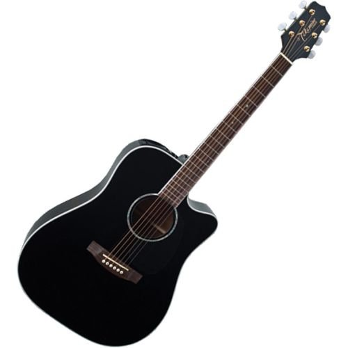Takamine G Series Eg341Sc Dreadnought Acoustic Electric Guitar, Black