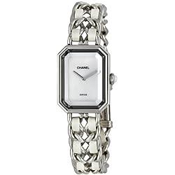 Chanel Womens H1639 Premiere Stainless Steel Bracelet Watch