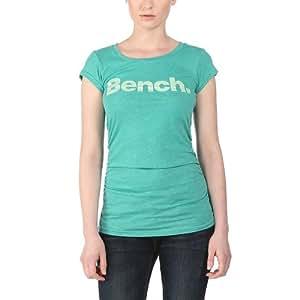 Bench Damen T-Shirt Deck Star, Aqua Green, XL, BLGA1766