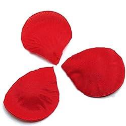 Generic 300pcs Silk Rose Petals Wedding Decoration Flowers - Red