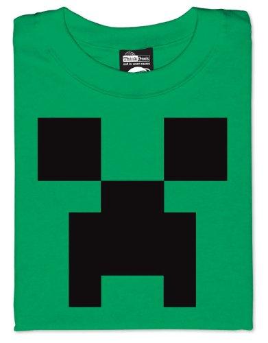 mortal kombat logo minecraft. Minecraft Creeper T-Shirt