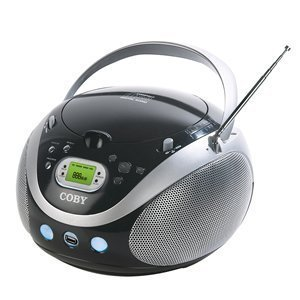 Portable AM/FM Radio MP3 CD Player