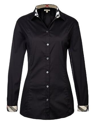 burberry bluse f 50 bl 29382 xl de xl it xl eu schwarz bekleidung. Black Bedroom Furniture Sets. Home Design Ideas