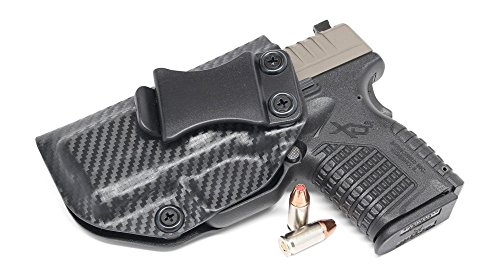 Concealment Express IWB KYDEX Holster: fits Springfield XD-S 3.3