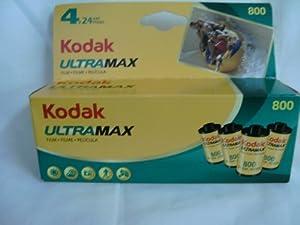 Kodak Ultramax 800 Color Negative Film (ISO 800) 35mm 24 Exposures 4 Roll Pack (603 0191)