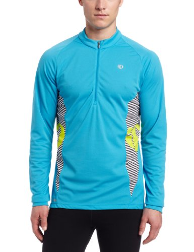 Pearl Izumi Men'S Fly In-R-Cool Long Sleeve Shirt, Electric Blue, Small