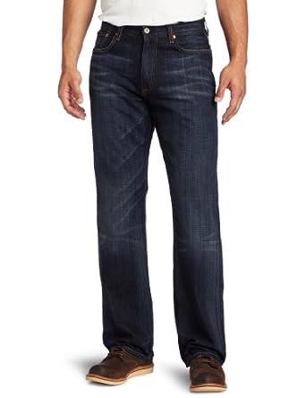 Lucky Brand Men's 181 Relaxed Straight Leg Jean In Ol Yogi, Ol Yogi, 29x32