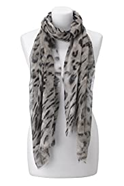 Autograph Pure Modal Leightweight Animal Print Scarf