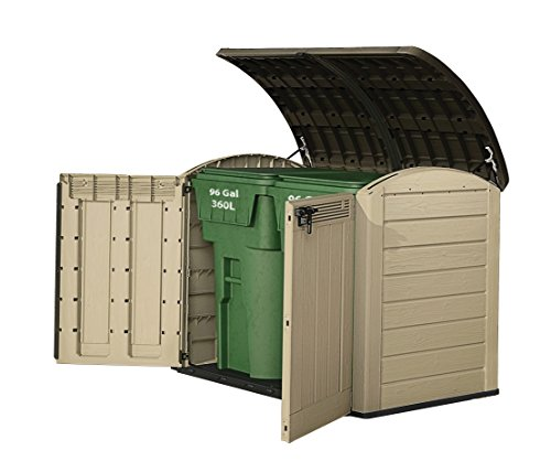 All Weather Boat Sheds : Keter woodland ultra outdoor all weather patio garden