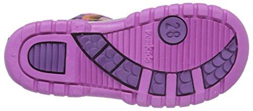 Romika Unisex-Kinder Slimmy Kurzschaft Gummistiefel, Violett (Viola-Pink 575), 23 EU -
