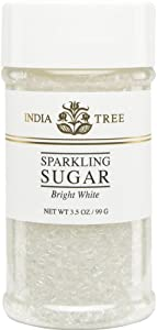 India Tree Bright White Sugar Sprinkles