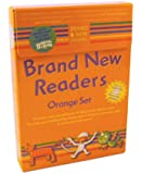 Brand New Readers: Orange Set (Cat and Mouse, Pizza, Dinah's Dream, Dinah Likes to Eat, Kazam's Birds, Kazam's Coins, Where Is Tabby Cat?, Cat Bath, Monkey the Mummy, and Monkey Flies Away)