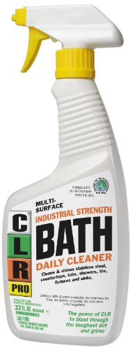 Clr pb bath 32pro multi purpose daily bath cleaner 32 oz Ingredients in clr bathroom cleaner